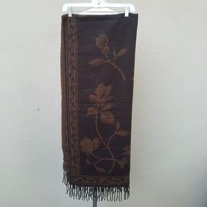 Lovely brown shawl/scarf